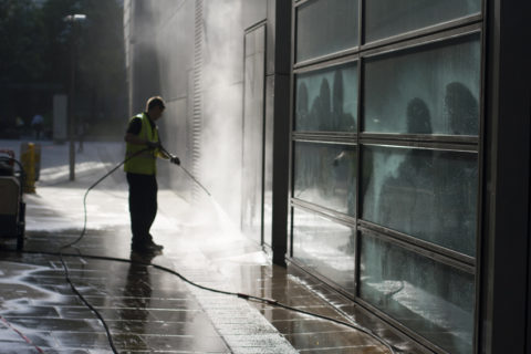 Power Washing Services - COMMERCIAL
